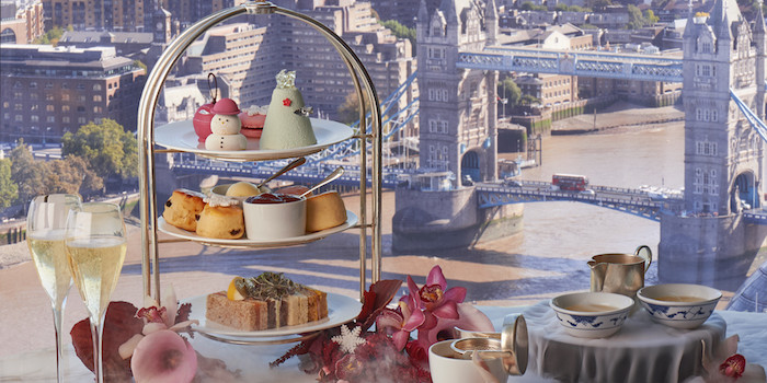 Festive Afternoon Tea at the Shard