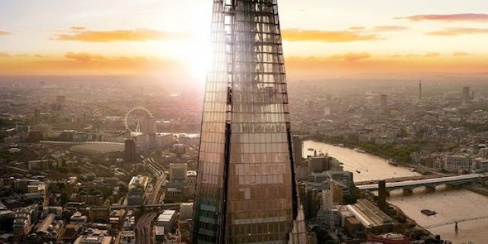 The Shard in London Afternoon Tea