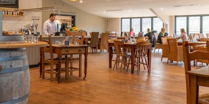 Afternoon Tea at Bolney Wine Estate Tearoom 1