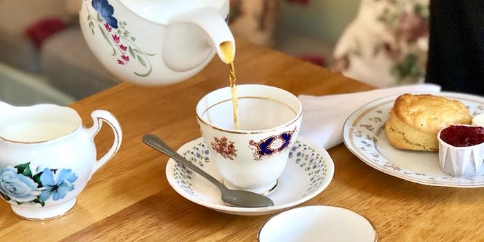 Afternoon Tea at The English Rose Cafe 1