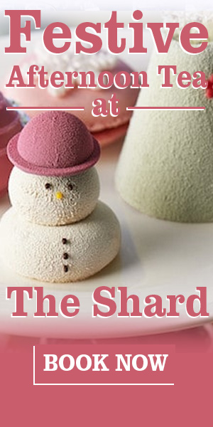 Afternoon Tea at The Shard this Christmas