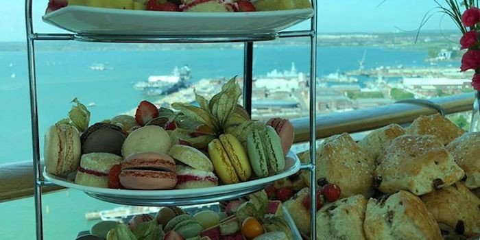 Afternoon Tea at Spinnaker Tower 1