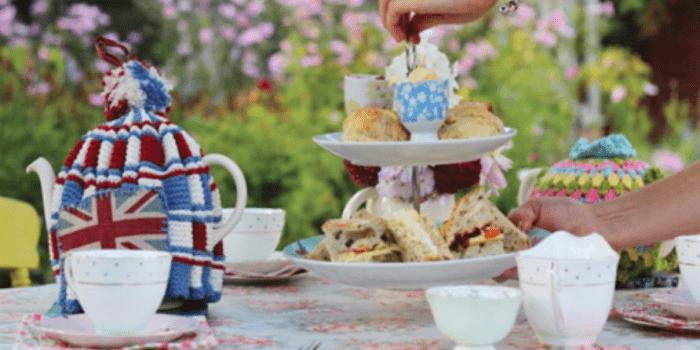 Afternoon Tea at Clarke's Farm Vintage Teas 1