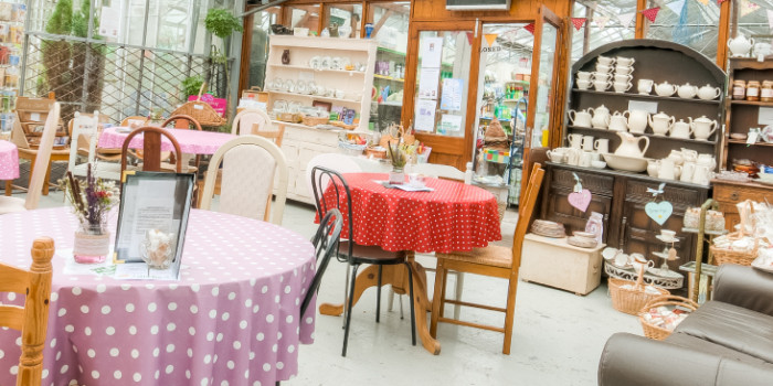 Afternoon Tea at Lily's Secret Vintage Pop Up Tearoom 1