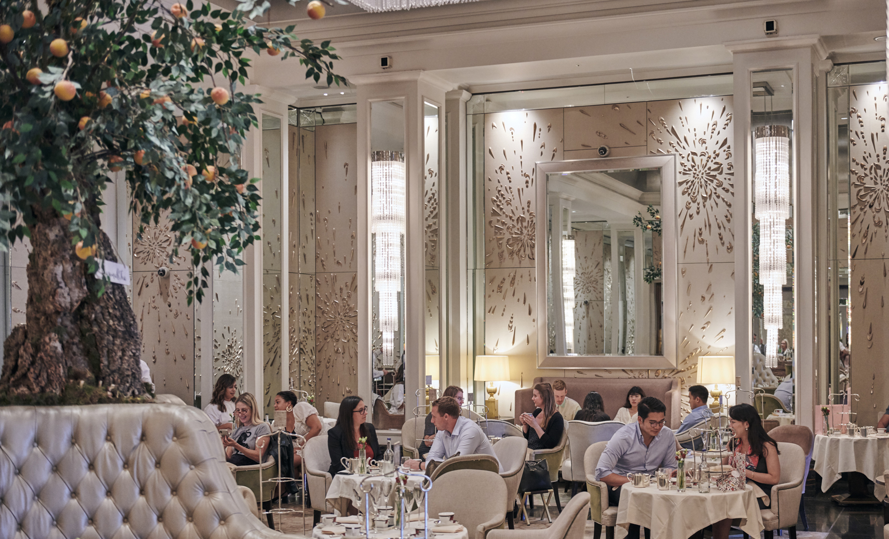 Afternoon Tea at Palm Court, The Langham, London 1