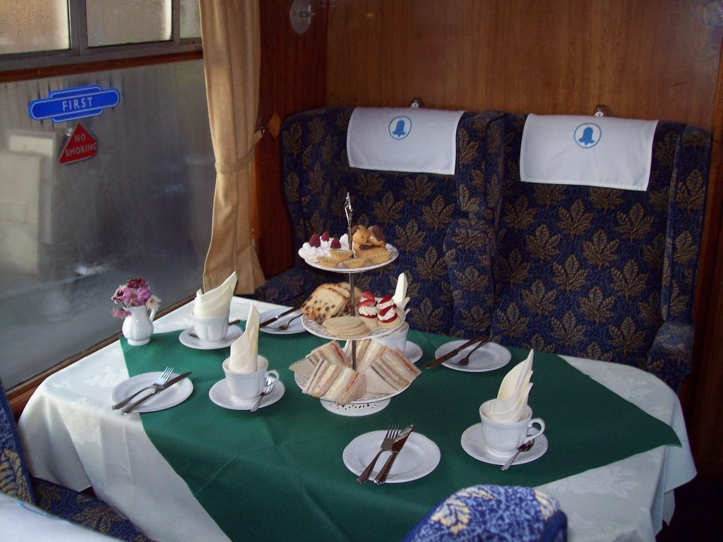 Afternoon Tea at Bluebell Railway 1