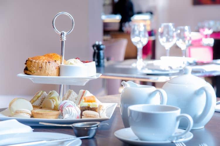 Afternoon Tea at Hotel Felix in Cambridge 1