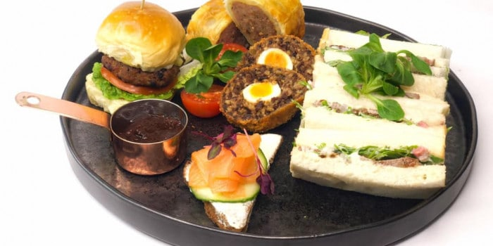 Afternoon Tea at Miltons Restaurant at Cantley House 1