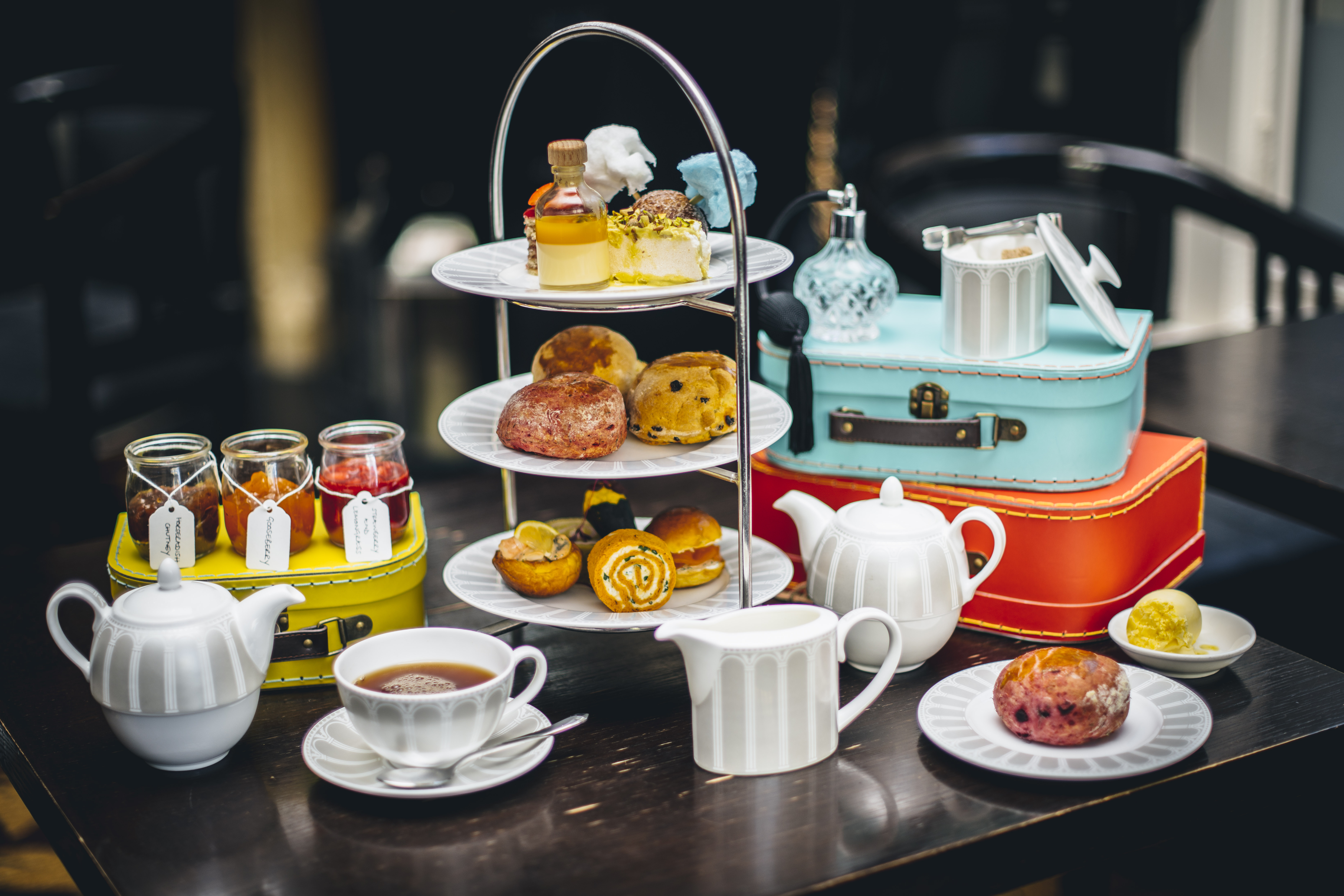 Afternoon Tea at The Grosvenor Tea Lounge 1