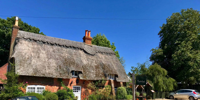 Afternoon Tea at Thatched Cottage Hotel Tea Room 1