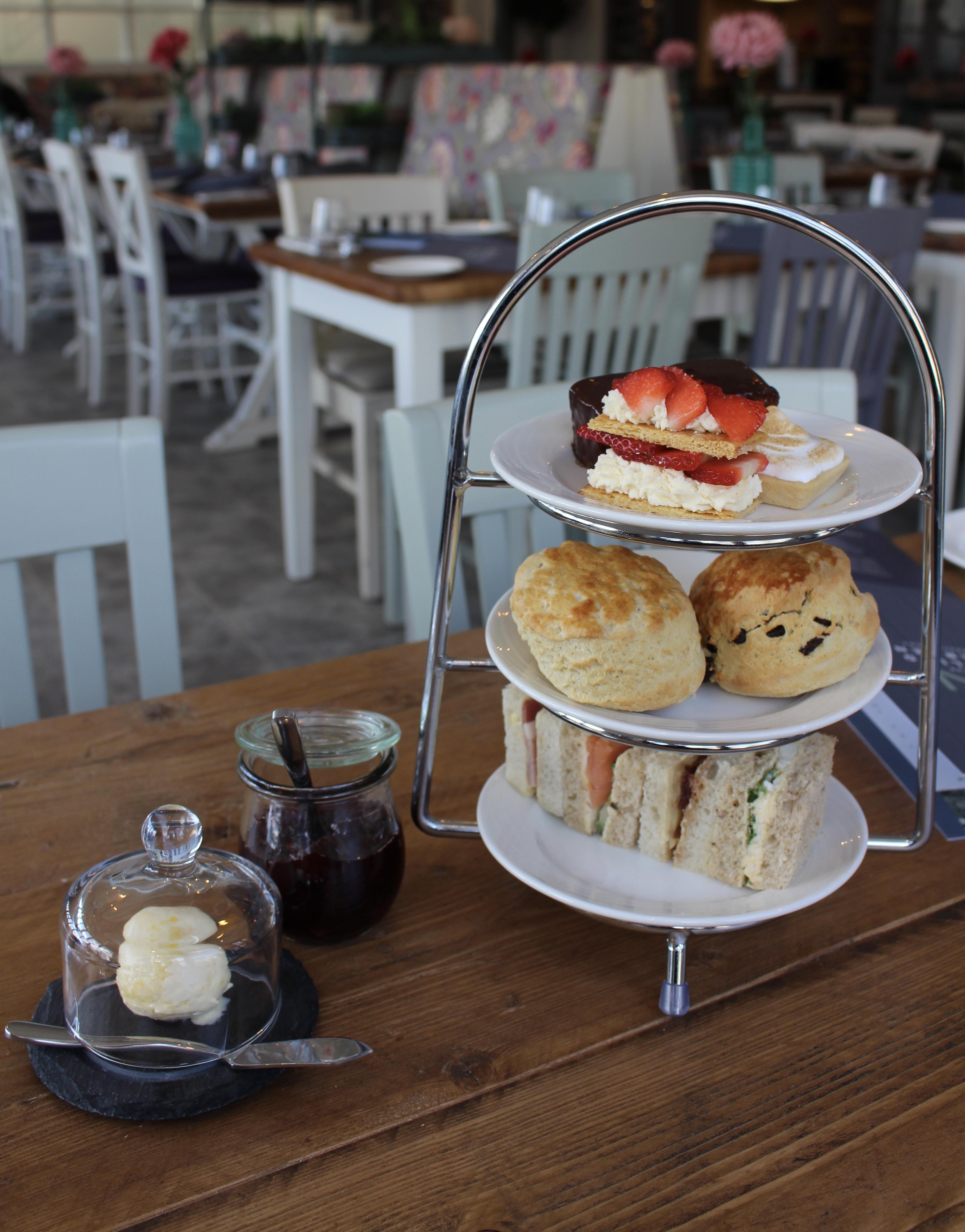 Afternoon Tea at The Walled Garden Restaurant 1