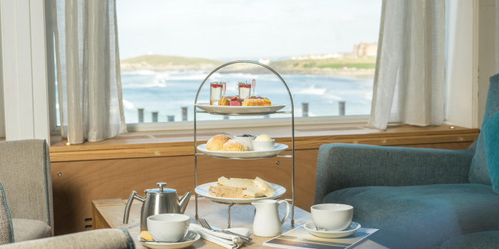 Afternoon Tea at Fistral Beach Hotel and Spa 1
