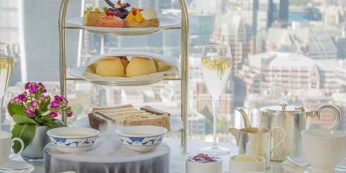 Afternoon Tea at The Shard, Shangri-La Hotel 1