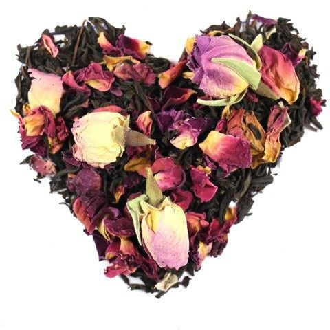 Valentines Black Tea Love Potion Blend