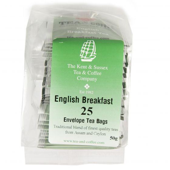 English Breakfast 25 Envelope Tea Bags