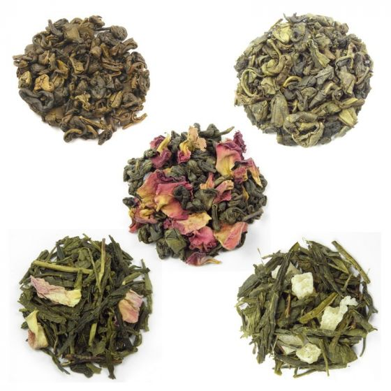 Flavoured Green Tea Selection 5 x 50g