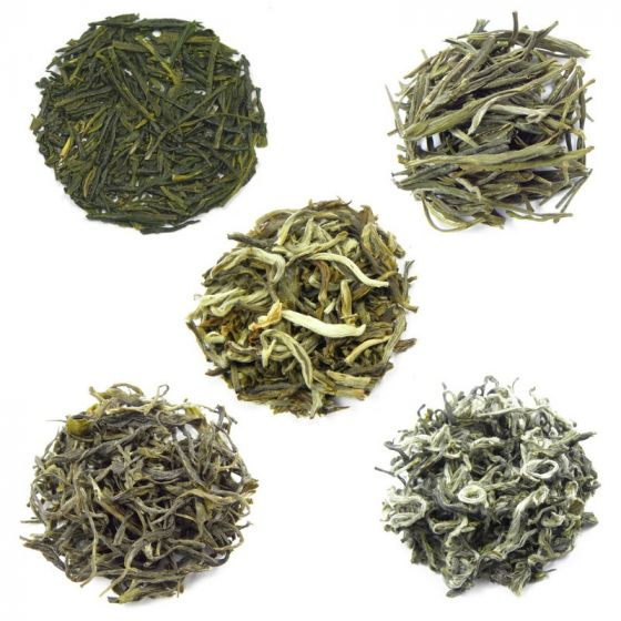 Green Tea Samples Selection