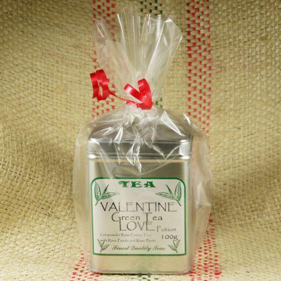 Valentines Green Tea Love Potion Caddy