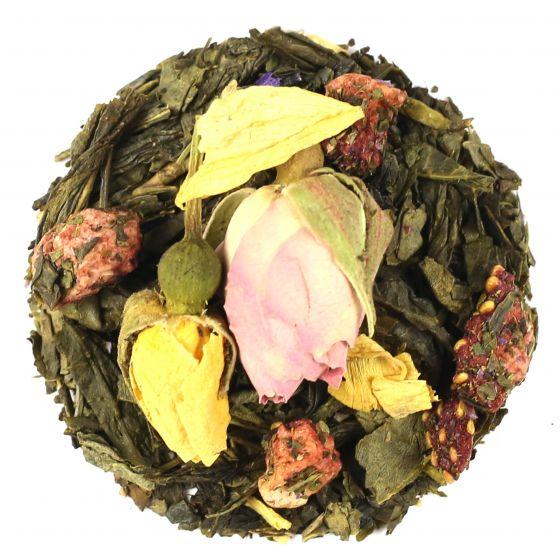Summer Raspberry Green Tea