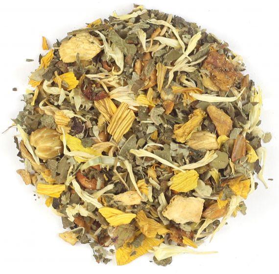 Ginger Honey Milk Herbal Tea