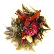 Red Flower Burst Tea Flower