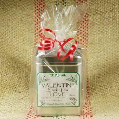 Valentines Black Tea Love Potion Caddy - Black Tea Caddy