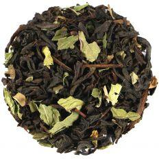 Peppermint Black Tea with Herbal Leaves
