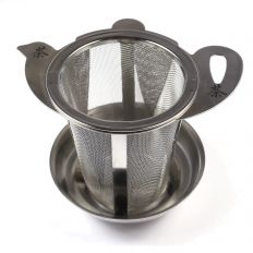 Teapot Shape Loose Tea Strainer