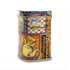 Small Time for Tea Caddy
