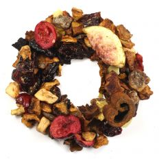 Apple Fig and Cranberry Festive Fruit Tisane