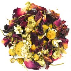 Chamomile and Rose Petal Tea