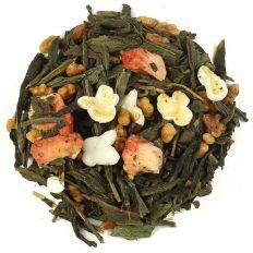 Strawberry Genmaicha Green Tea