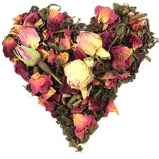 Valentines Green Tea Love Potion Blend