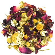 Chamomile and Rose Petal Tea