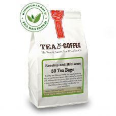 Rosehip and Hibiscus Tea Bags