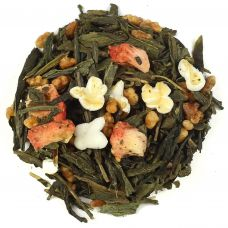 Strawberry Genmaicha Tea