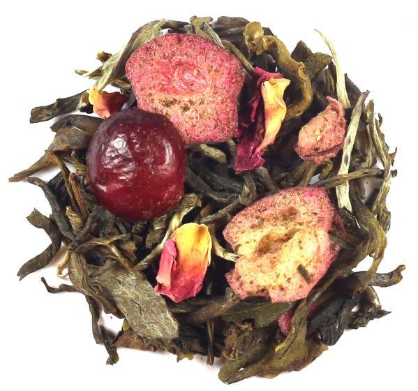 Pomegranate White Iced Tea