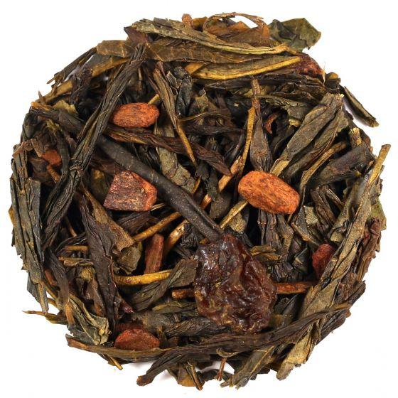 Cinnamon and Plum Green Tea