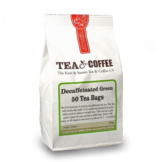 Decaffeinated Green Tea Bags