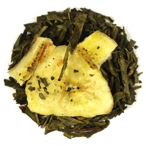 Banana Green Tea