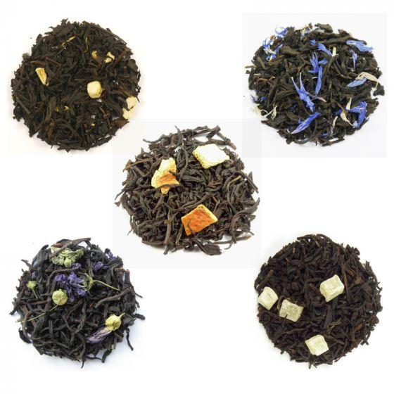 Flavoured Black Tea Selection 5 x 50g