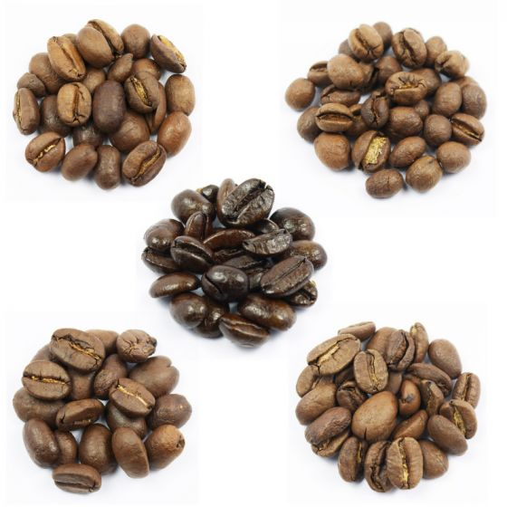 Coffee Gift. Roast Coffee Collection