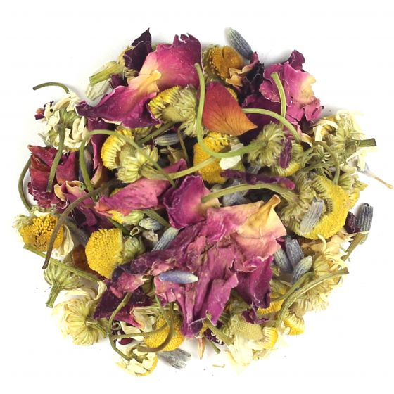 Camomile Lavender and Rose Herbal Blend