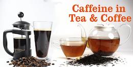Caffeine in Tea and Coffee