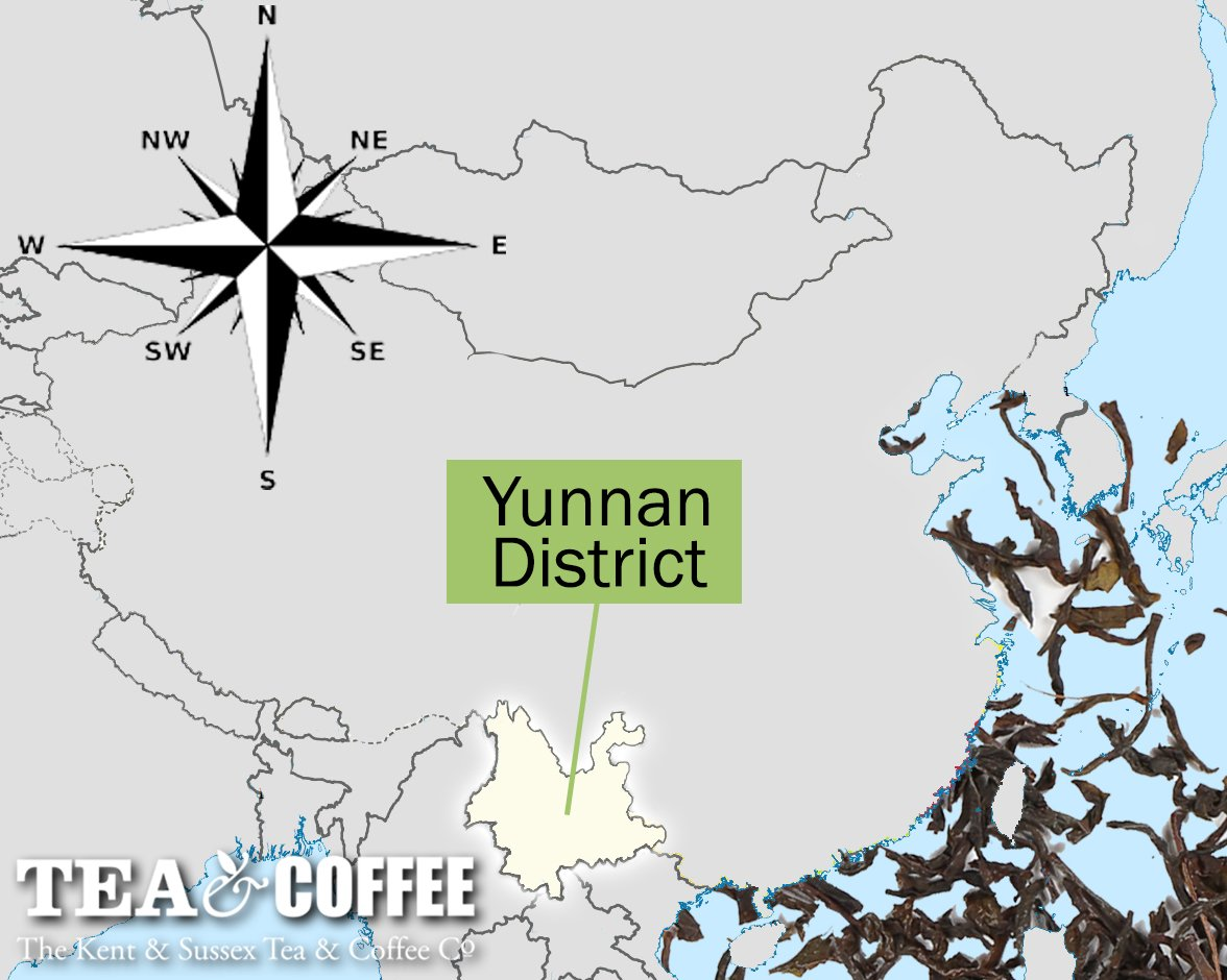 Yannan Map