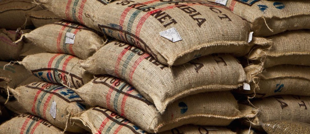 Image of Green Bean Coffee Sacks