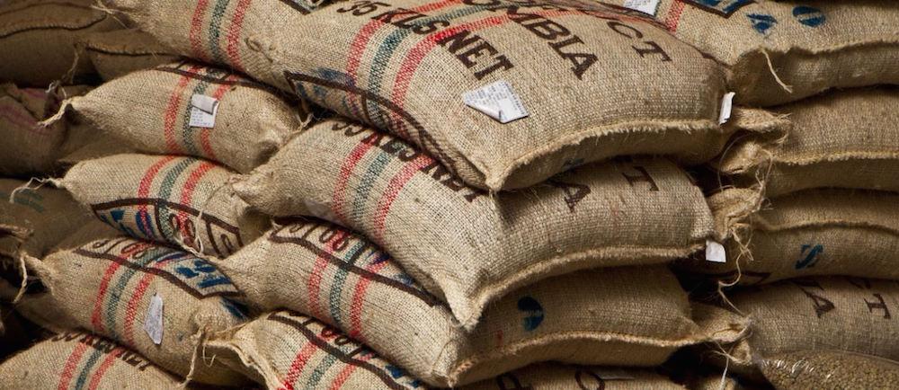Image of Green Bean Coffee Sacks