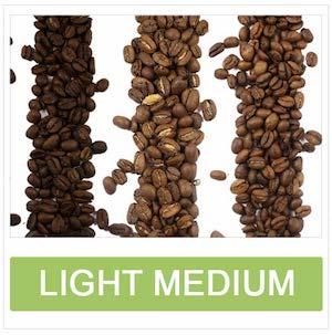 Light Medium Roasted Coffee