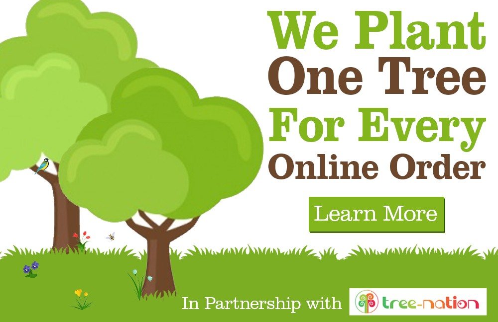 We plant one tree for every online order