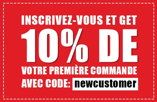 Register and get 10% off your first order with code: newsletter